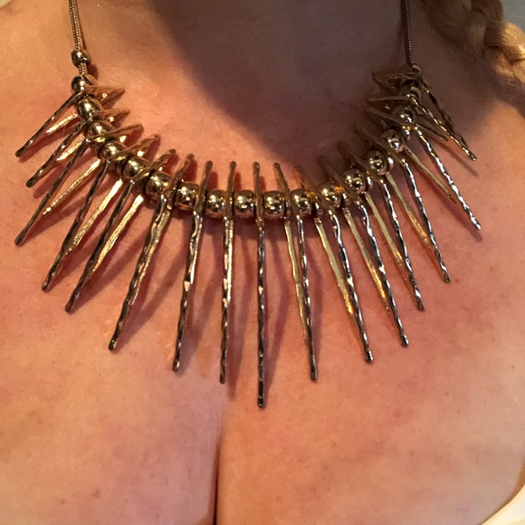 JS Collections Jewelry - JS Spiked Necklace